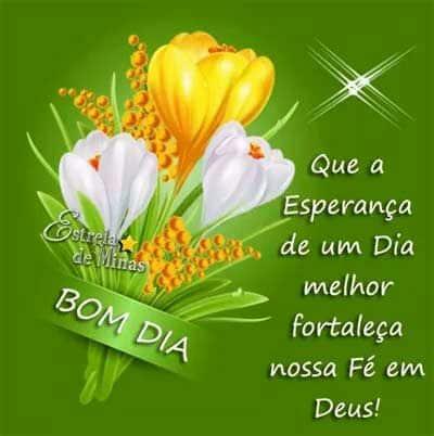 Bom Dia Fé Em Deus