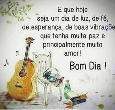 Bom Dia Amor E Música